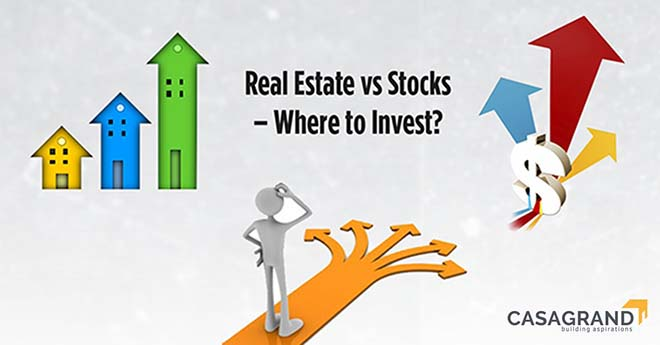 Real Estate Vs Stocks – Where To Invest?