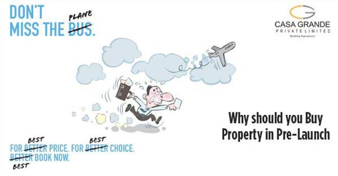 Why should you buy property in pre-launch