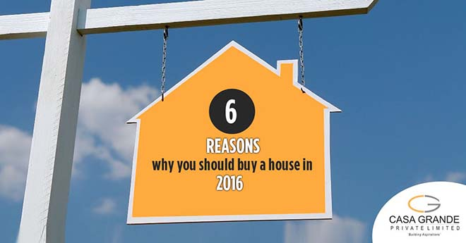 6 reasons why you should buy a house in 2016
