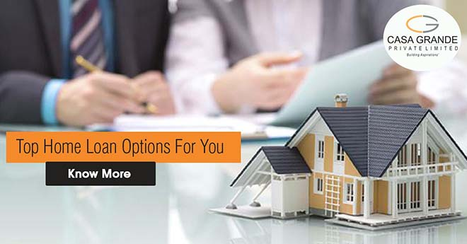 Top home loan options for you