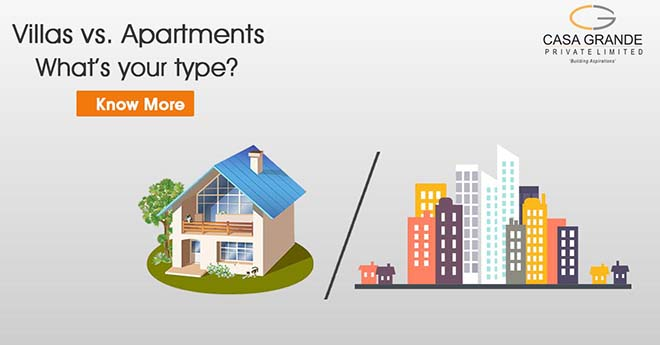 Villas vs. Apartments: What's your type?