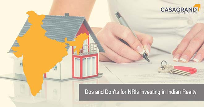 Dos and Don'ts for NRIs investing in Indian realty