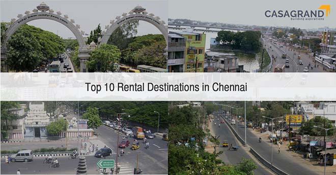 Top 10 Rental Destinations in Chennai