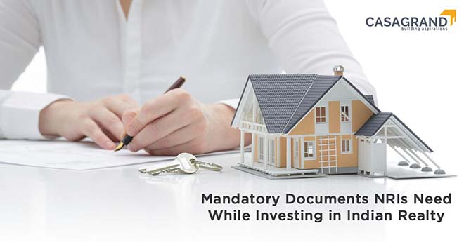 Mandatory Documents NRIs Need While Investing in Indian Realty