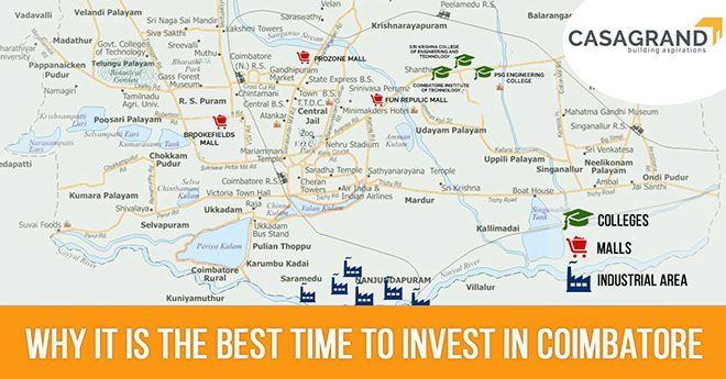 Why it is The Best Time to Invest in Coimbatore
