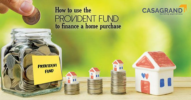 How to use the Provident Fund to finance a home purchase