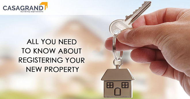 All you need to know about registering your new property