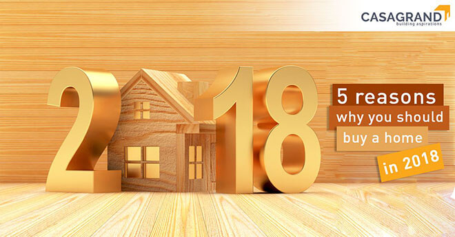 Five reasons why you should buy a home in 2018