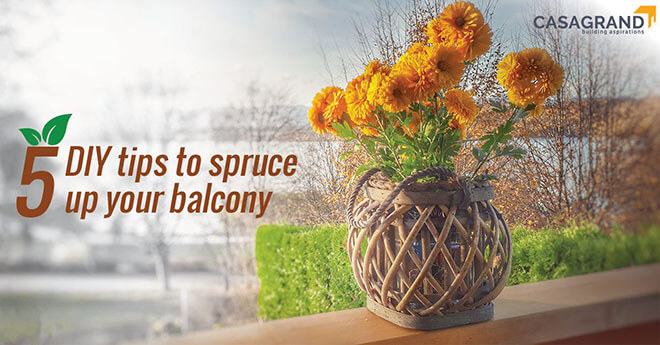5 DIY Tips to Spruce Up Your Balcony