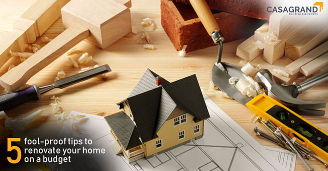 5 fool-proof tips to renovate your home on a budget