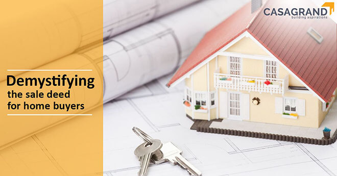 Demystifying the sale deed for home buyers