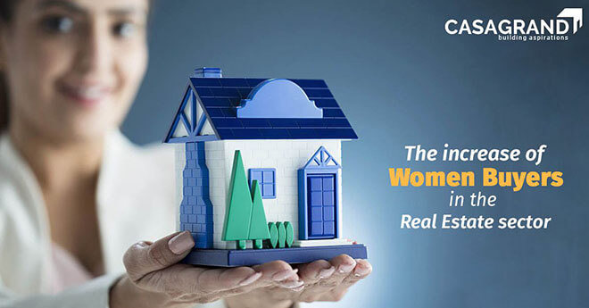 Increase of Women Buyers in the Real Estate sector