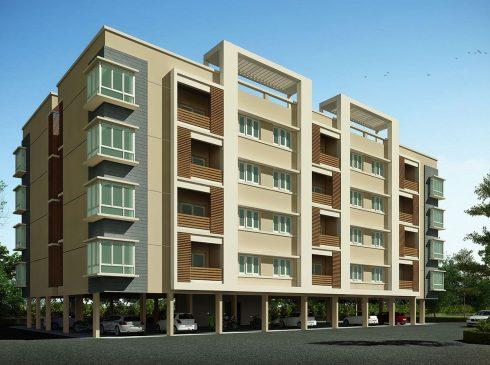 2 BHK Apartment View