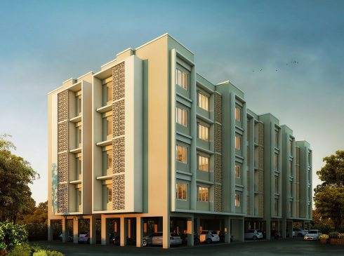 Smart 2BHK Apartment View
