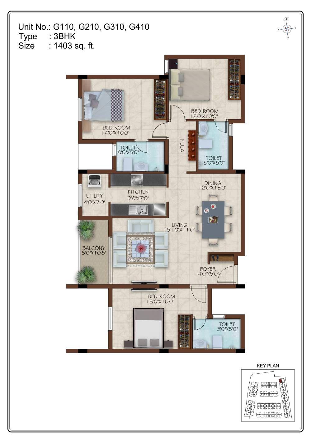 Luxury Apartments For Sale In Alandur Chennai Godrej Washing Machine Wiring Diagram Floor Plans Site Plan 2 Bhk 3 4