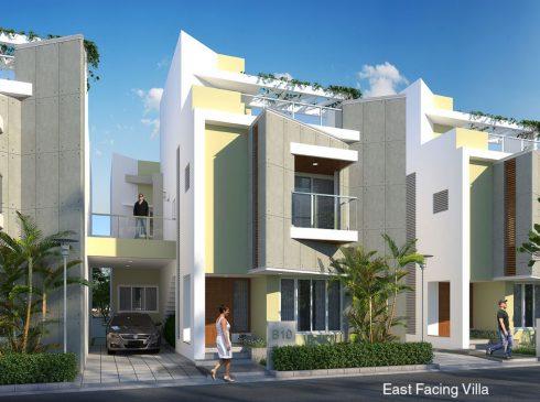 East Facing Villa