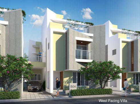 West Facing Villa
