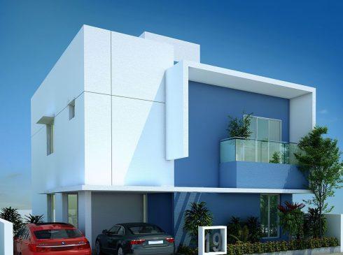 Type E Villa View