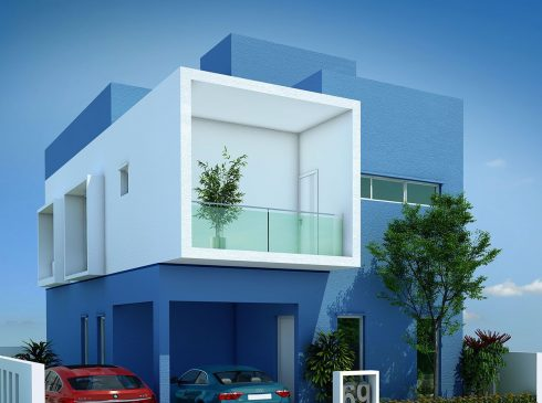 Type C Villa View