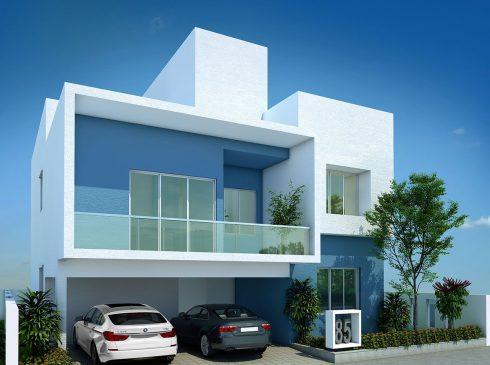 Type B Villa View