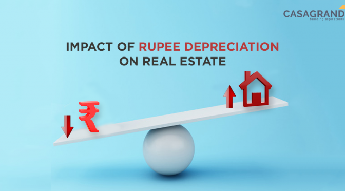 Impact of Rupee depreciation on real estate