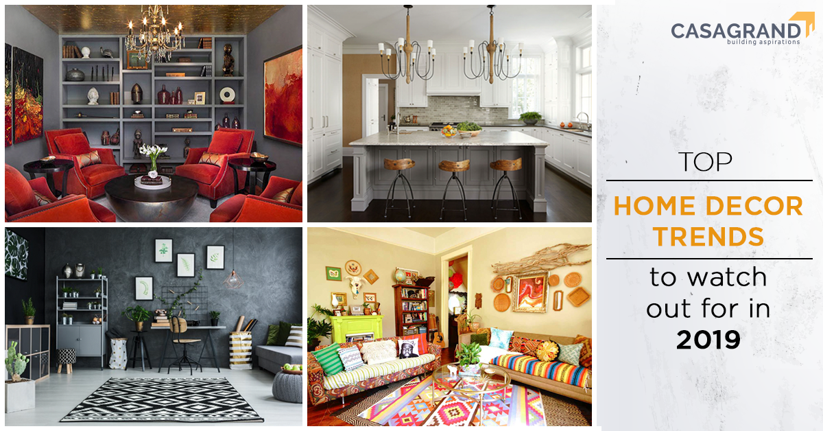 Top home décor trends to watch out for in 2019