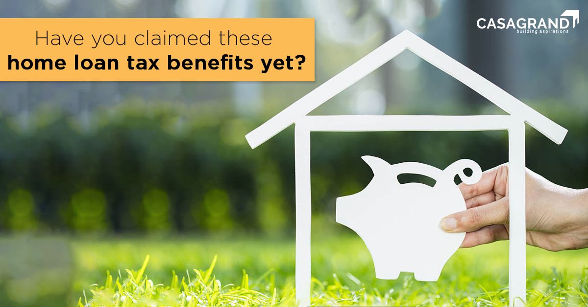 Have you claimed these home loan tax benefits yet?