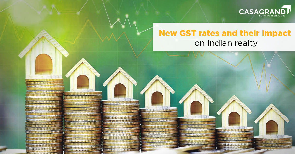 New GST rates and their impact on Indian realty