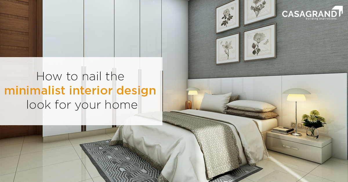 How to nail the minimalist interior design look for your home