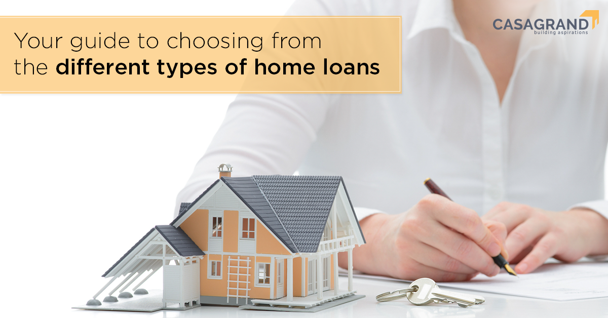 Your guide to choosing from the different types of home loans