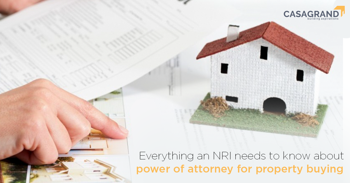 Everything an NRI needs to know about power of attorney for property buying