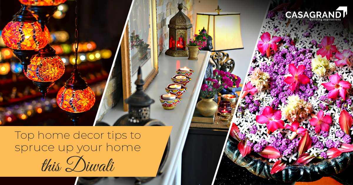 Top home decor tips to spruce up your home for this Diwali.