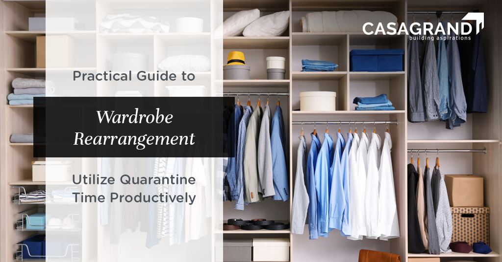 Practical Guide to Wardrobe Rearrangement: Utilize Quarantine Time Productively