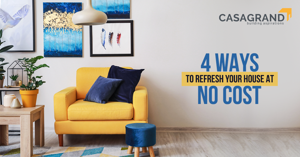 4 Ways to Refresh Your House at No Cost