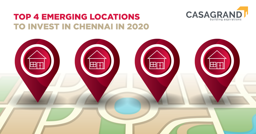Top 4 emerging locations to invest in Chennai in 2020