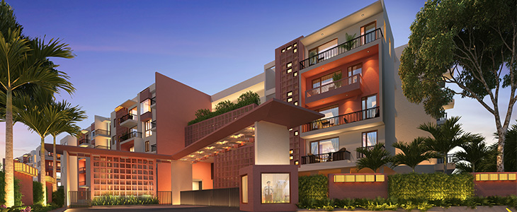 Luxury Apartment Entrance View - Casagrand Utopia