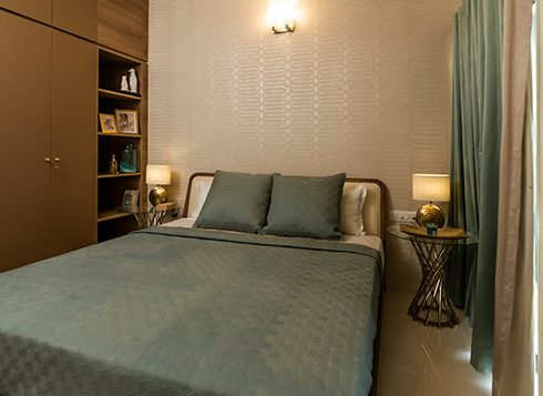 Casagrand First City - 2 BHK Bedroom View 2