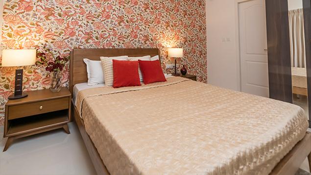 2 BHK - Bedroom
