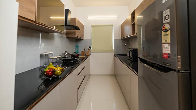 2 BHK - Kitchen