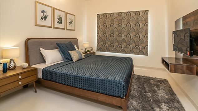3 BHK - Bedroom