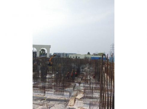 Casagrand First City Site Progress 6 - May 2021