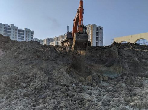 Casagrand First City Site Progress 3 - February 2021
