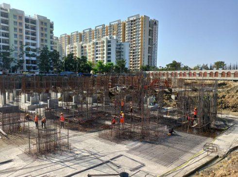 Casagrand First City Site Progress 5 - March 2021