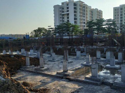 Casagrand First City Site Progress 17 - April 2021