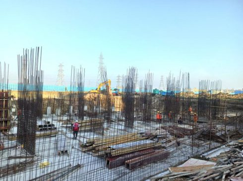 Casagrand First City Site Progress 9 - April 2021