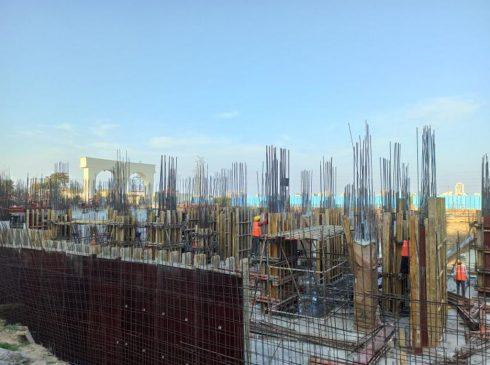 Casagrand First City Site Progress 8 - April 2021