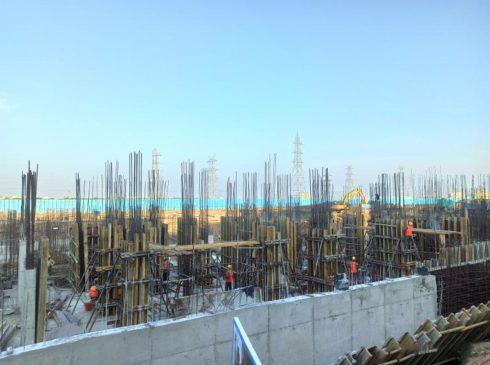 Casagrand First City Site Progress 7 - April 2021