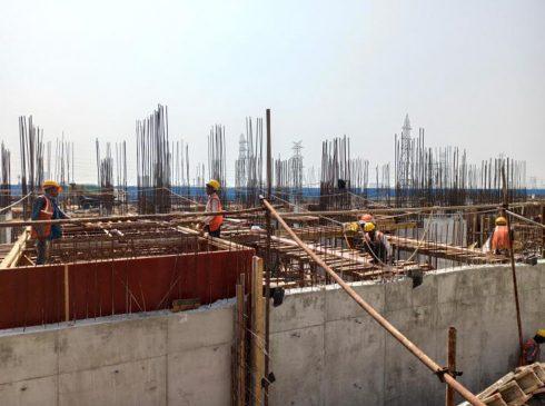 Casagrand First City Site Progress 4 - April 2021