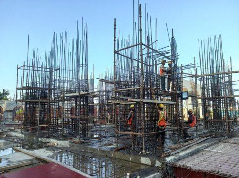 Casagrand First City Site Progress 1 - April 2021