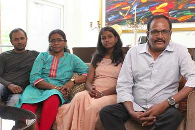 Mr Marimuthu & Family